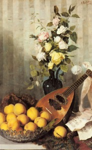 a_still_life_with_a_vase_of_roses,_a_bowl_of_peaches_and_a_mandolin-large