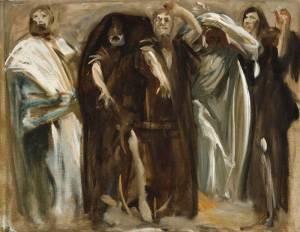 frieze of the prophets