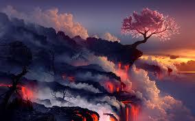 cherry volcano