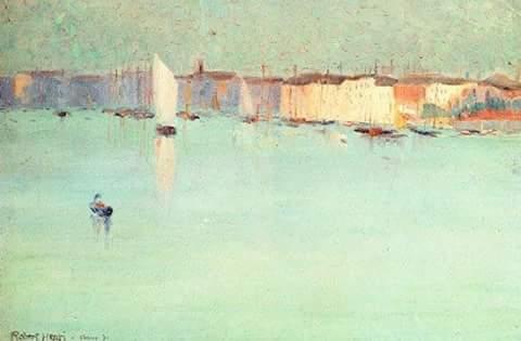 """Early Morning Venice"" Robert Henri"